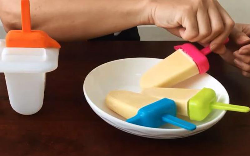Món kem cây trứng muối béo ngậy ngon hấp dẫn